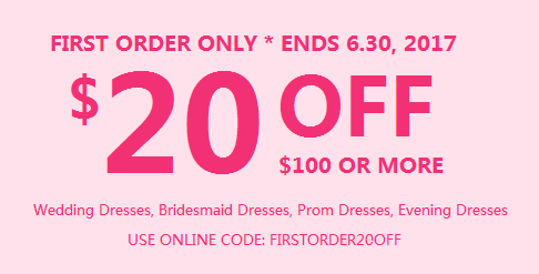 First Order $20 Off